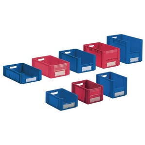 Large open fronted picking and storage bins