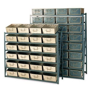 Tote pan rack - shelf levels (pans excluded)
