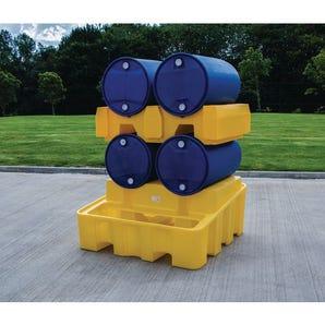 Drum dispensing rack