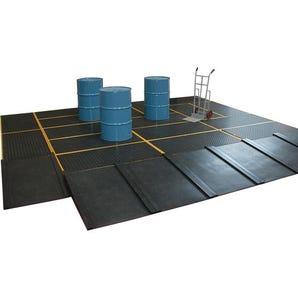 PE sump flooring