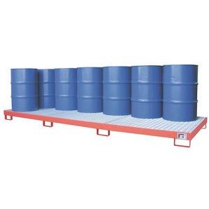 Large surface area sump pallets