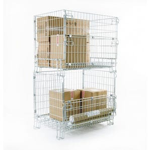 Hypacage® stackable mesh pallet cages