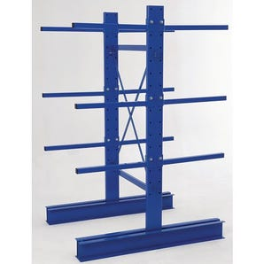 Light duty cantilever racking - Double sided