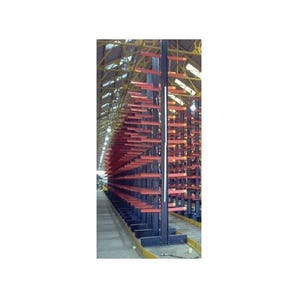 Heavy duty bolted cantilever racking - Double sided starter units