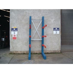 Heavy duty bolted cantilever racking - Single sided starter units
