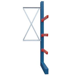 Heavy duty bolted cantilever racking - Single sided add-on units