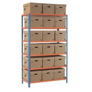 Regular duty archive storage
