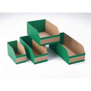 Fibreboard bins, 200mm height
