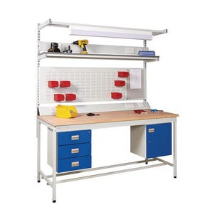 General purpose square tube workbenches