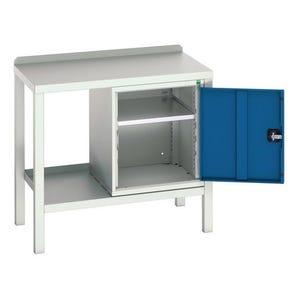 Bott heavy duty welded workbenches - Workbench with cupboard