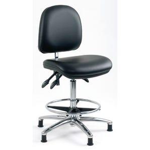 Anti-static ergonomic conductive seating
