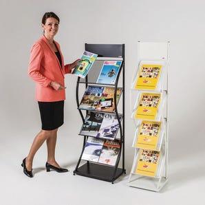 Wave leaflet dispensers