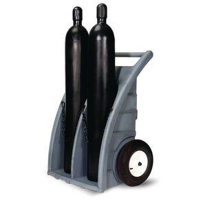 Polyethylene gas cylinder trucks