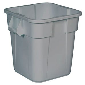 Square polyethylene containers