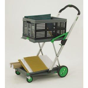 Clax mail distribution folding trolley
