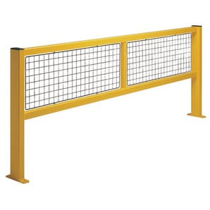 Safety protection barrier systems - Straight barrier