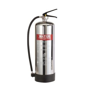 Stainless steel water extinguishers
