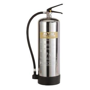 Stainless steel foam fire extinguishers