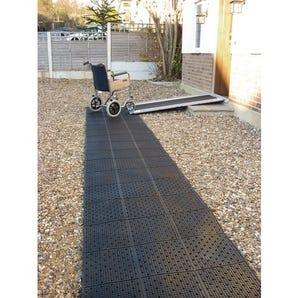 Wheelchair track