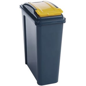 Colour coded recycling bins