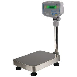 Check weighing floor scales