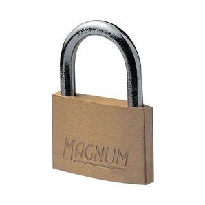 Economy brass padlock