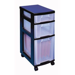 Clear drawer units