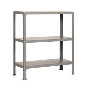 Boltless steel shelving with metal shelves - 150kg