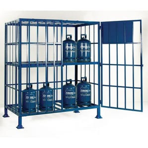 Mobile and static cylinder cages