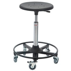 Industrial work stools - PU moulded seat