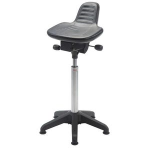 Industrial sit/stand stools - Heavy duty PU moulded seat