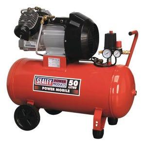 Twin direct drive compressors