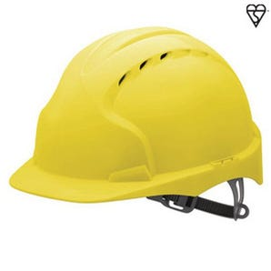 EVO3 safety helmets with slip ratchet and comfort harness