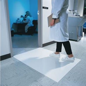 Clean room sticky tack mats - pack of 4 pads