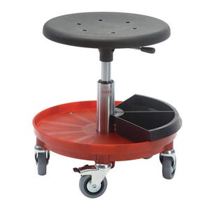 PU Moulded roller stools