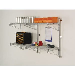 Posts for use with Slingsby Wall mounted wire shelves