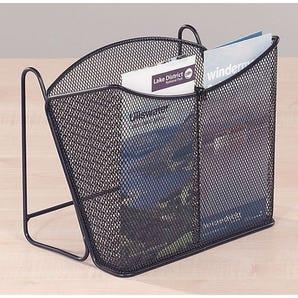 Counter top mesh brochure dispenser