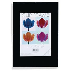 Clip frame A4 certificate frames