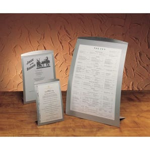 Table top poster frames