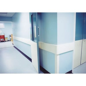 Vinylac wall protection - Rail section