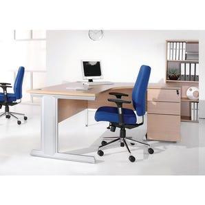 Heavy duty ergonomic desk