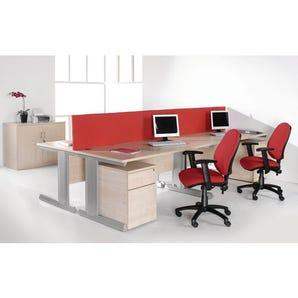 Heavy duty rectangular desks