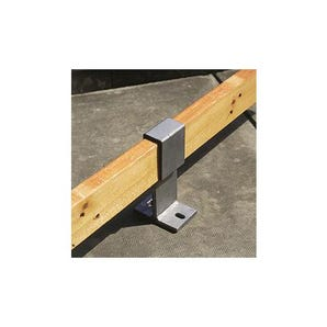 Concrete benches - Security clamp