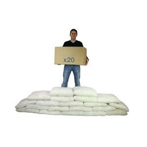 Portable expanding sandbags