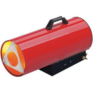Propane gas fired space heaters