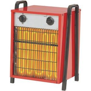 Industrial electric fan heaters