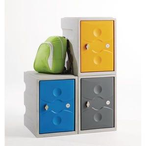 Mini plastic lockers - Single door