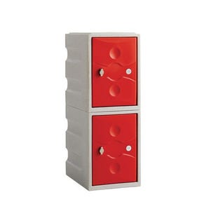 Mini plastic lockers - Two door