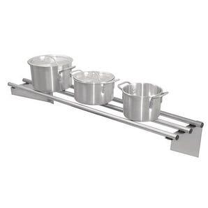 Stainless steel rod shelves