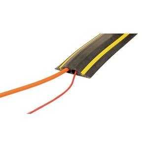 Hi-vis Industrial cable protectors - Circular channels